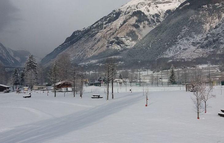 Nevicata 8 dicembre 2017 a Morgex - Foto di Massimiliano Grande