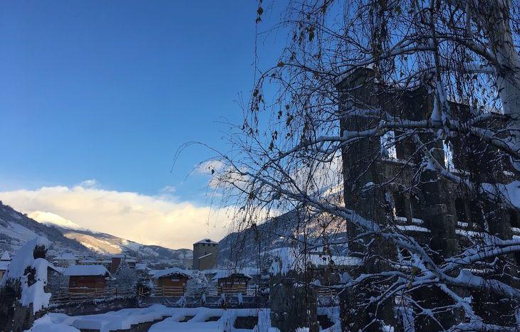 Aosta e la neve 12 dicembre