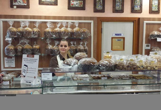 La pasticceria Vancheri è in centro a Saint-Vincent.
