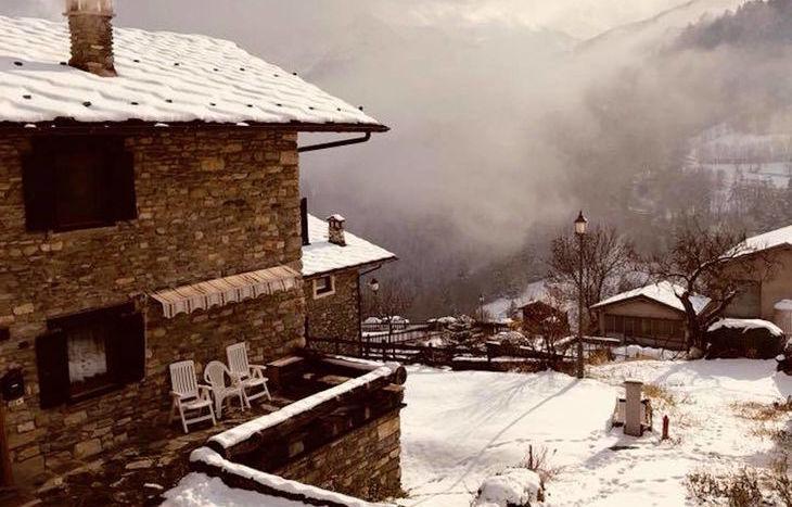Nevicata 8 dicembre 2017 - Foto di Stefano Tarabiono