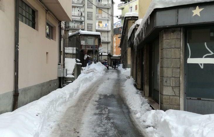 Via dell'Archibugio ad Aosta