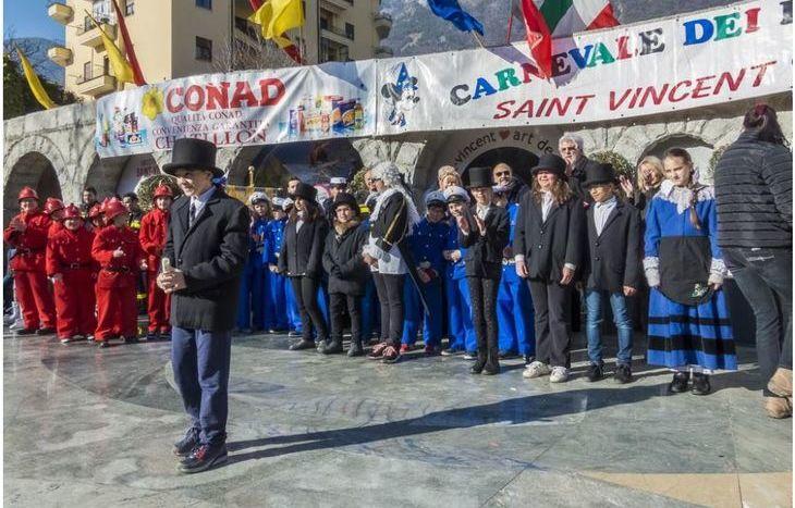 Saint-Vincent - carnevale dei piccoli