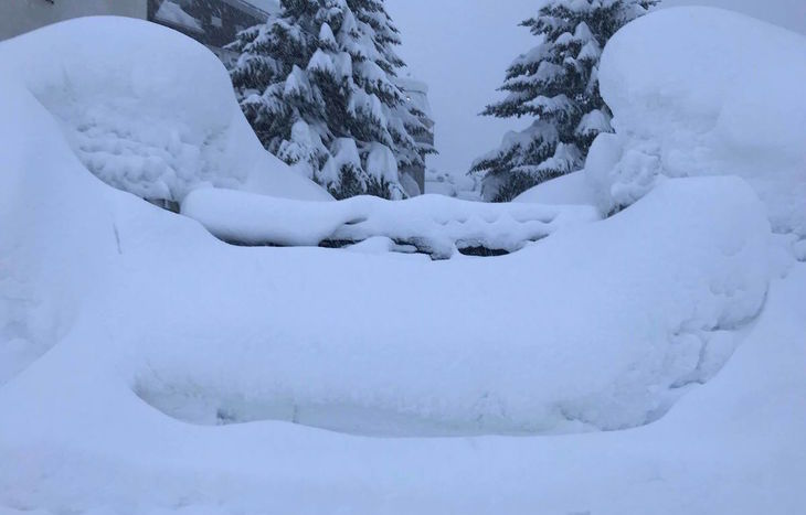 Cervinia 9 gennaio - Foto di Marco Caponetto