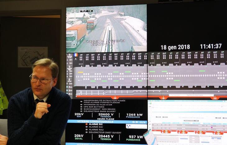 Gilles Rakoczy, direttore gerente del GEIE del Tunnel del Monte Bianco.