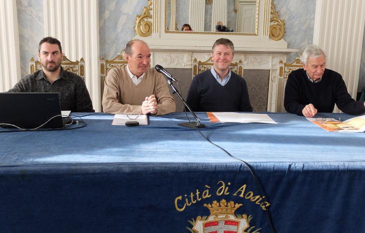Da sx: Diego Joyeusaz, Giancarlo Civiero, Fulvio Centoz e Michele Tropiano