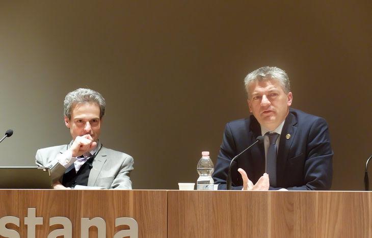 Gianni Nuti e Luigi Bertschy