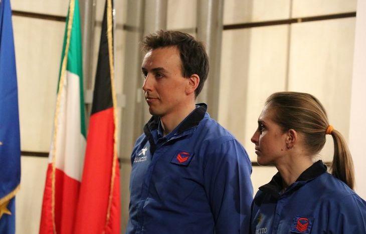 Francesco De Fabiani e Elisa Brocard