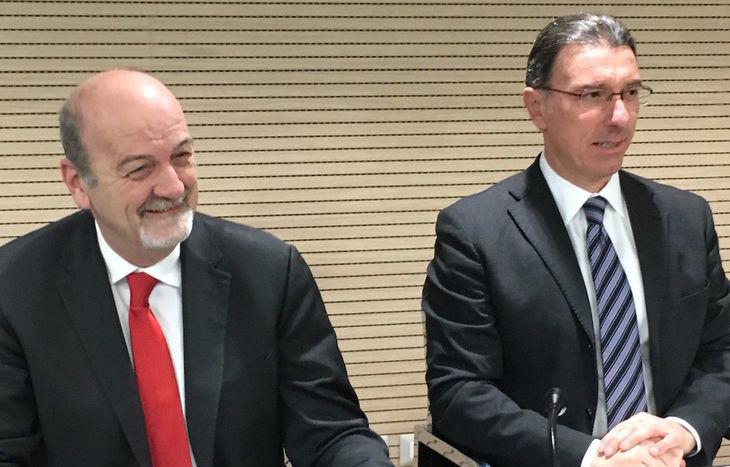 Rudi Marguerettaz e Albert Lanièce