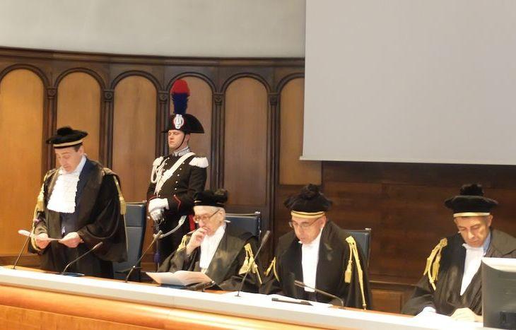 Inaugurazione dell'anno giudiziario della Corte dei Conti