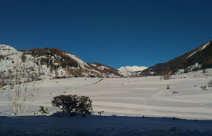 Pedalata invernale a La Thuile