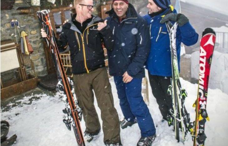 Gli chef stellati Heston Blumenthal, Sat Bains e Marcus Wareing