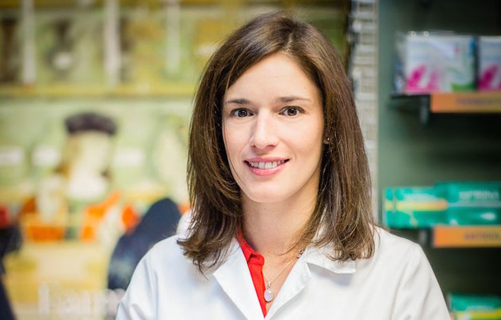 La farmacista Sara Costamagna