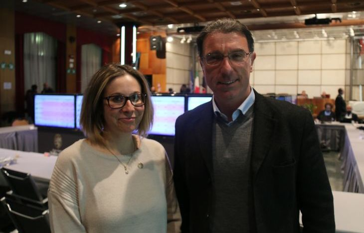 Elisa Tripodi e Albert Lanièce