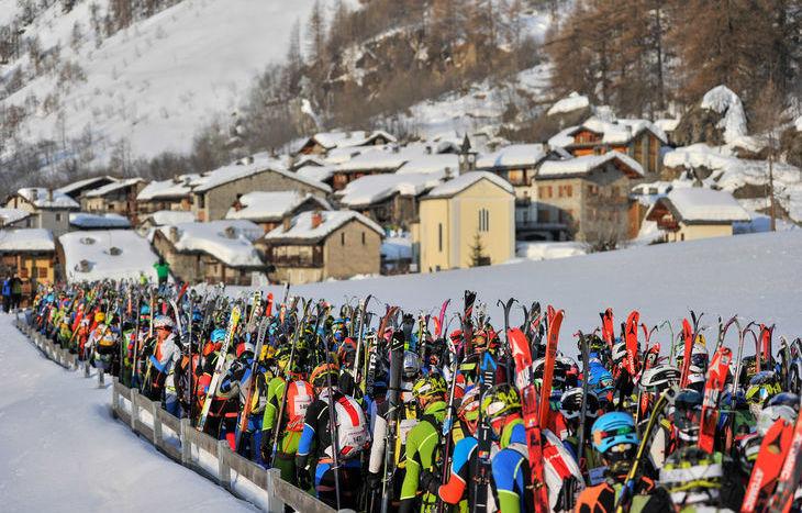 Partenza terza tappa - Tour du Rutor Extreme 2018