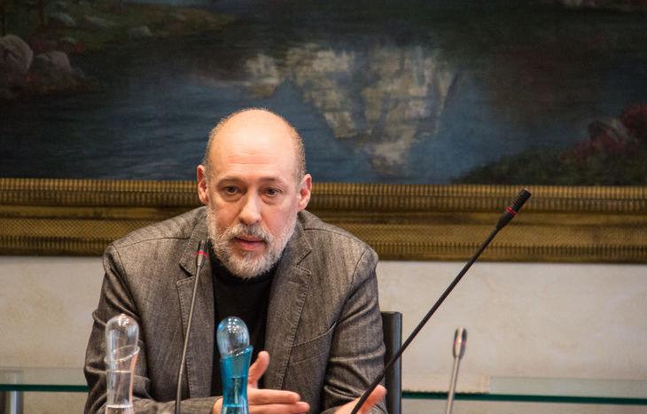 Il procuratore vicario Luca Ceccanti durante l'audizione.