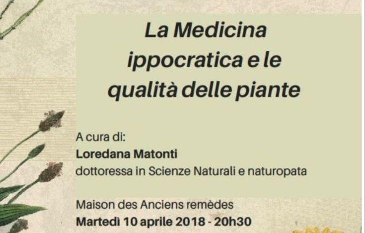 La Medicina ippocratica e le qualità delle piante