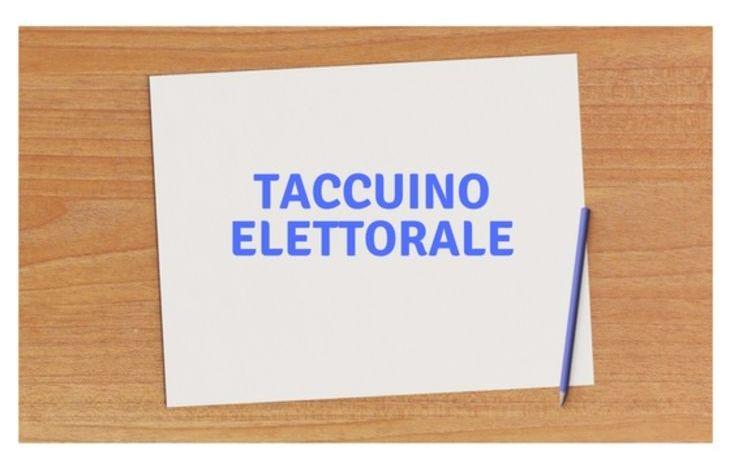 Taccuino elettorale