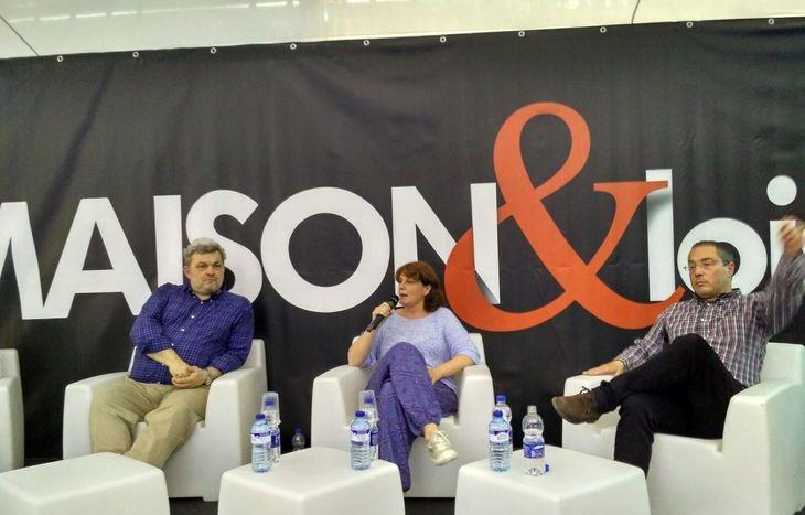 Da sx: Paolo Maccari, Nathalie Grange e Cristiano Florio