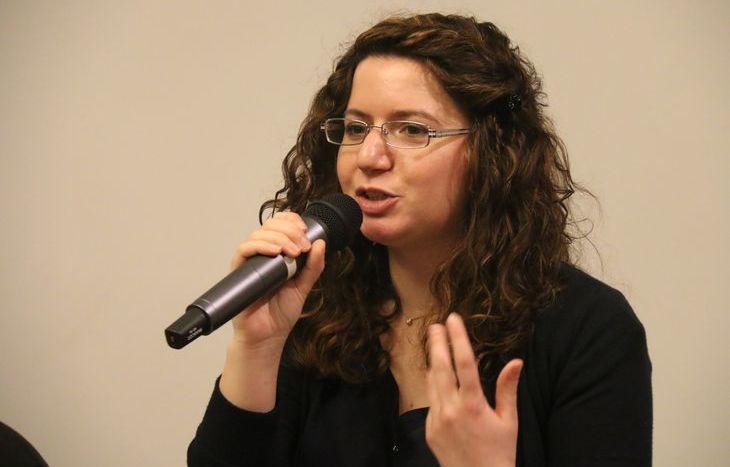 Il segretario del Pd valdostano, Sara Timpano