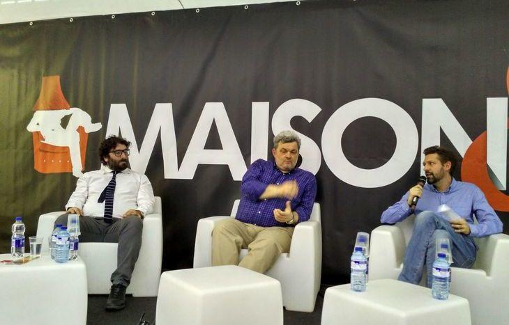 Da sx: Fabio Tucci, Paolo Maccari e Massimiliano Riccio