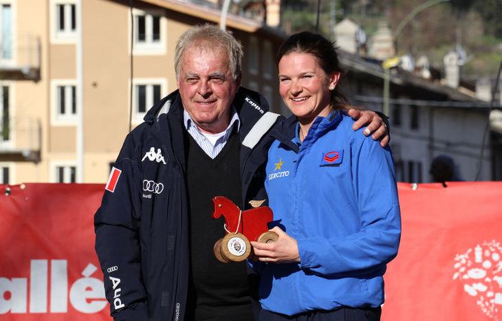 La festa dei protagonisti dei Giochi olimpici invernali di PyeongChang - Nicole Gonthier