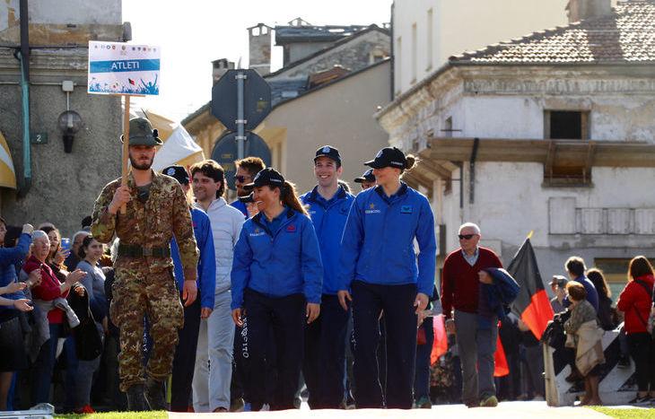 La festa dei protagonisti dei Giochi olimpici invernali di PyeongChang - La sfilata