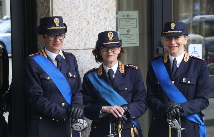Festa della Polizia - Palazzo regionale, Aosta.