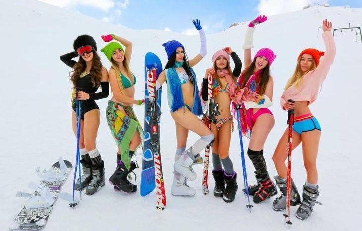 Skimwear Ski Parade