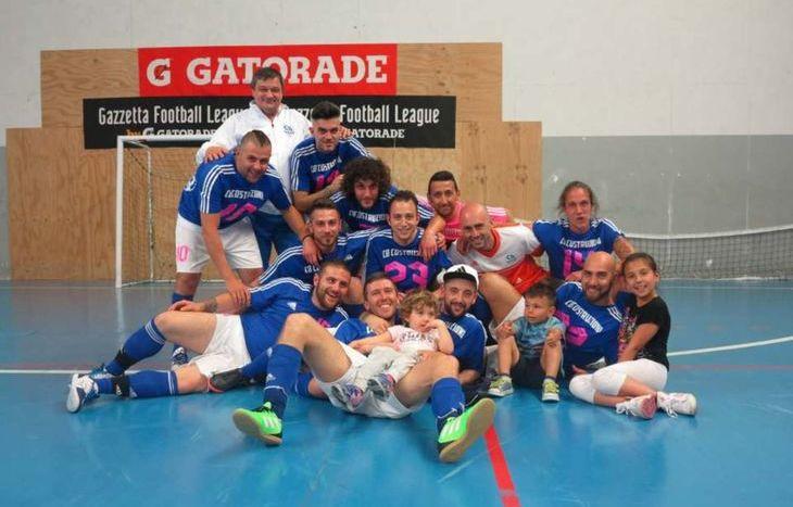 Il CB Costruzioni vince la fase interregionale del Gazzetta Football League - foto Pasquale Di Maio
