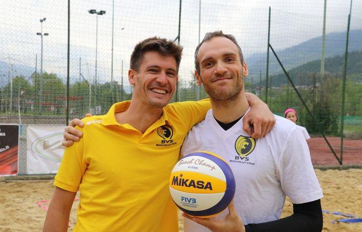 Michel Grumolato e Michel Arbaney