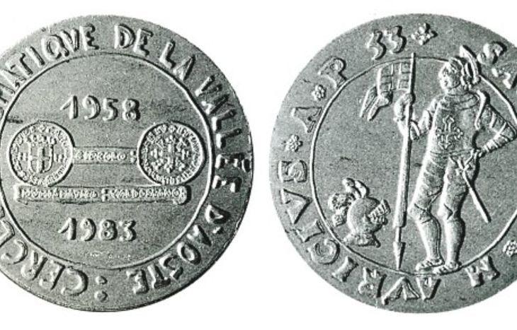 Medaglie centro numismatico vda