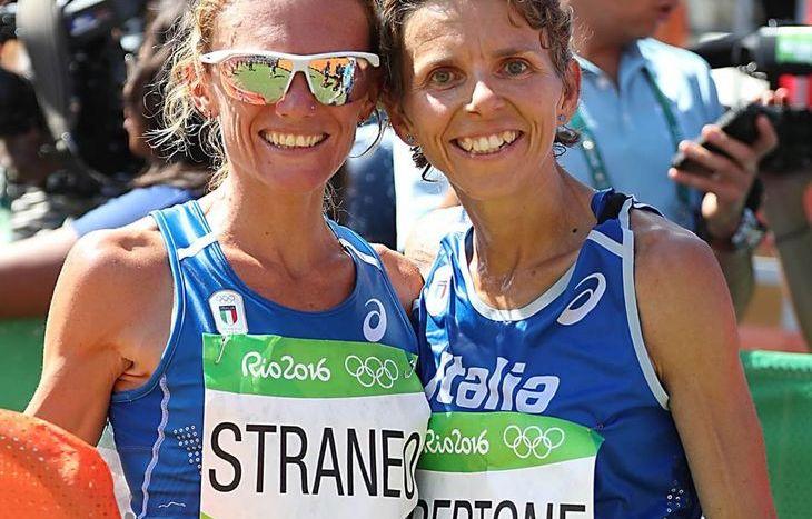 Valeria Straneo e Catherine Bertone