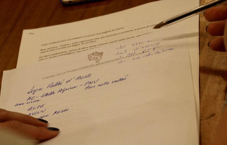 Consiglio regionale 26 giugno 2018 - Documento Lega