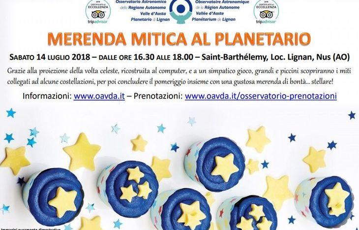 Locandina - merenda mitica al planetario
