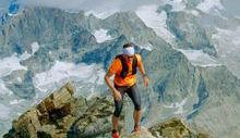 Andreas Steindl - Record Cervino - Foto dalla pagina Facebook della guida alpina