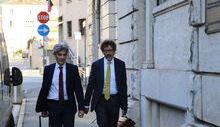 Udienza Casinò - Brunello con l'avvocato Bellora