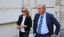 Udienza Casinò - Il procuratore capo Fortuna e il Pm Menichetti