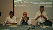 Riccardo Diano, Filippo Ferrari, Luigi Bertschy