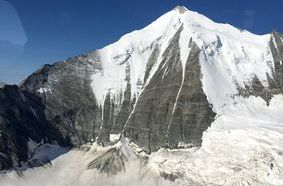 Il Weisshorn, a nord del Cervino.