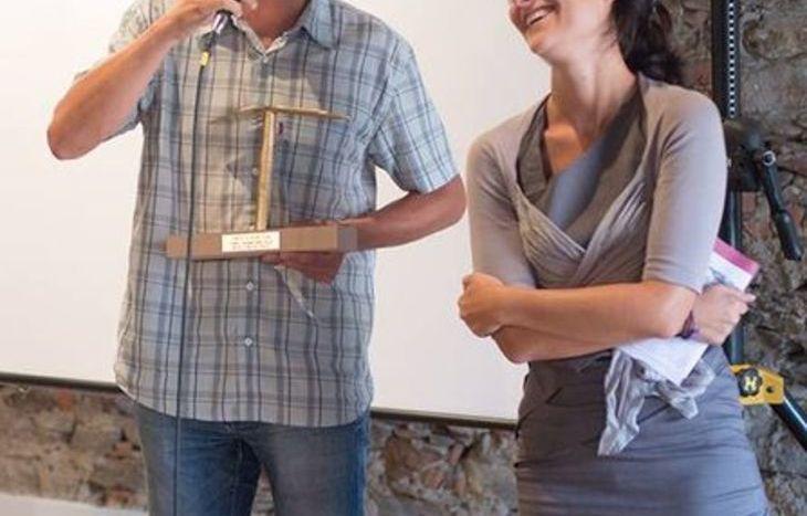 Joseph Péaquin premiato al Festival Corto e Fieno
