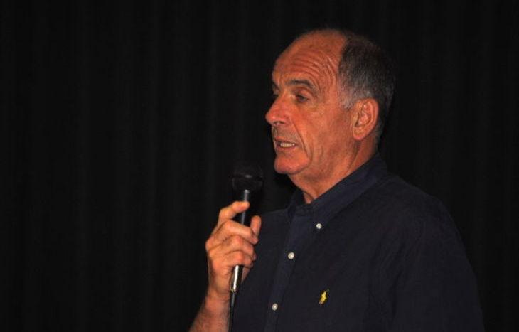 Il Presidente della Giunta Regionale Augusto Rollandin