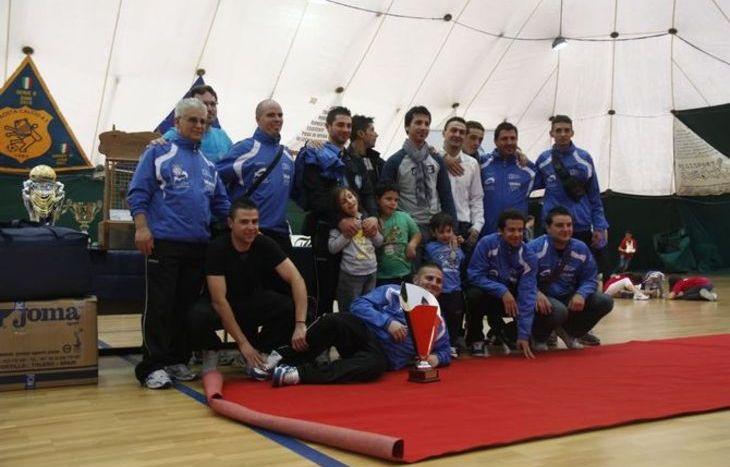 Cb Costruzioni, 3° classificata Claudesport 2012