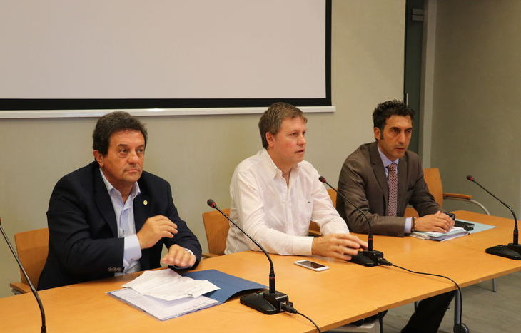 Mauro Baccega, Fulvio Centoz e Marco Sorbara