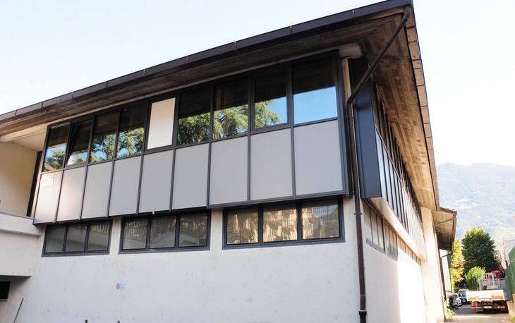 La scuola Luigi Einaudi di Aosta