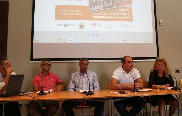 La presentazione degli eventi del 24 e 25 settembre
