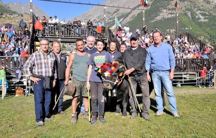 Rondella, di Borinato-Arnod, vincitrice in terza categoria