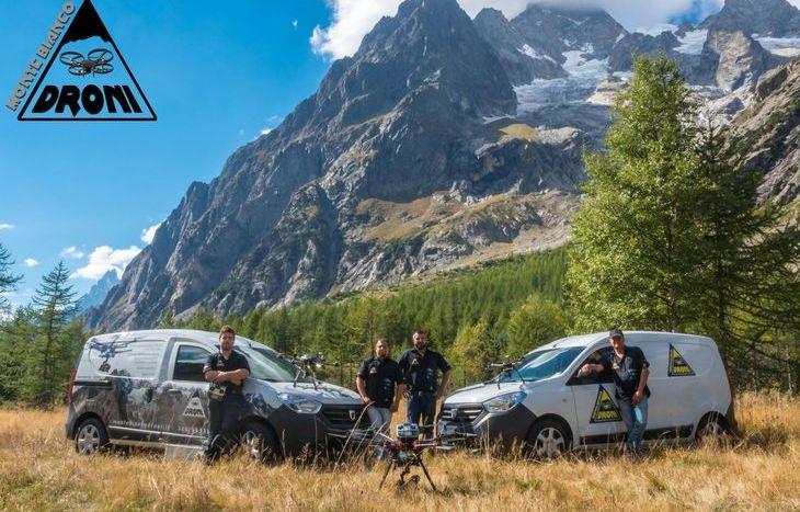 Monte Bianco Droni
