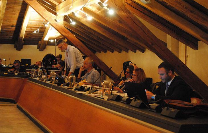 La minoranza consiliare di Aosta