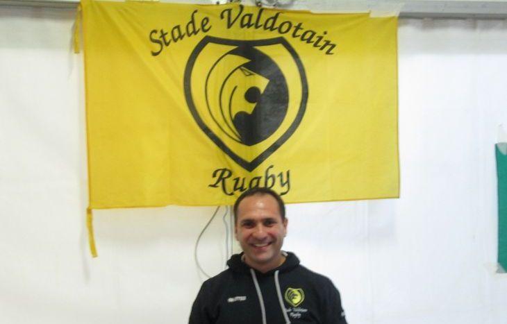 Il presidente dello Stade Valdotain, Francesco Fida