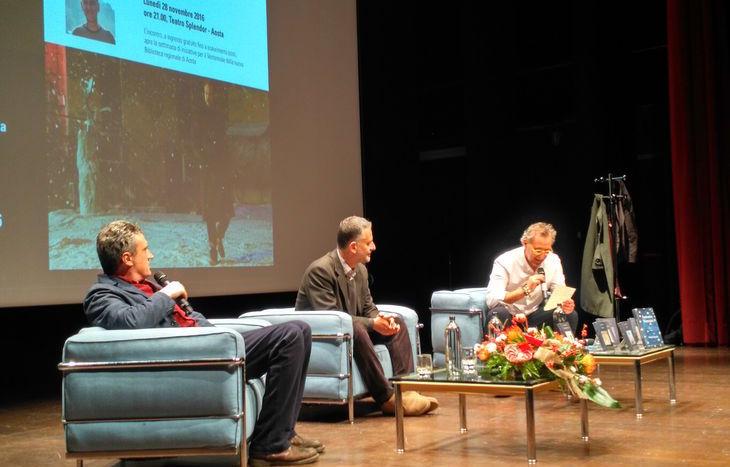 L'incontro con Manzini e Careddu al teatro Splendor